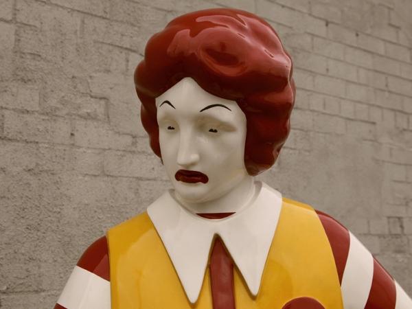 Banksy McDonalds Face