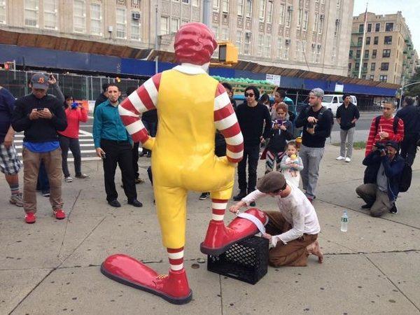 Banksy McDonalds Shining