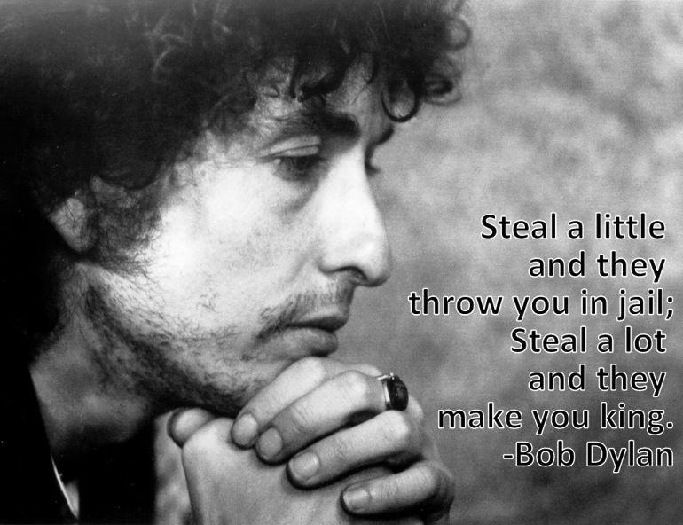 Bob Dylan Stealing