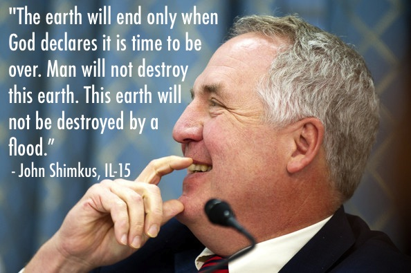 GOP Science Quotes Shimkus