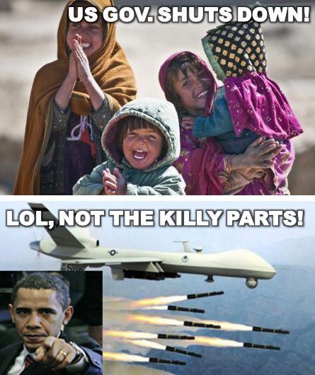 Shutdown Drones