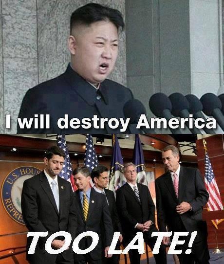 Shutdown North Korea