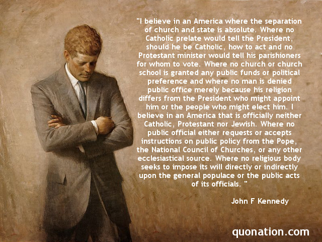 JFK On Religion