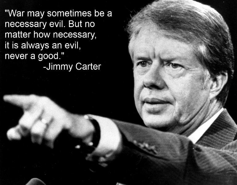 Jimmy Carter On War