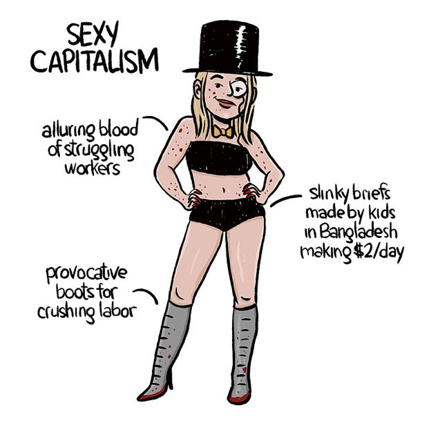 Sexy Politics Halloween Capitalism