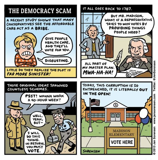 Democracy Scam
