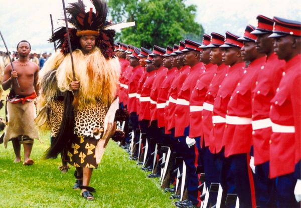 Dictator Fashions Mswati Animal Print