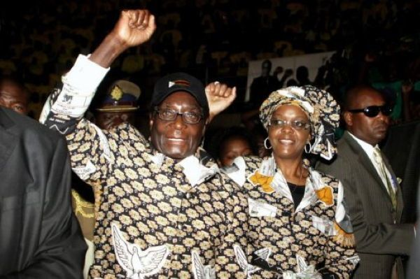 Dictator Fashions Mugabe Black