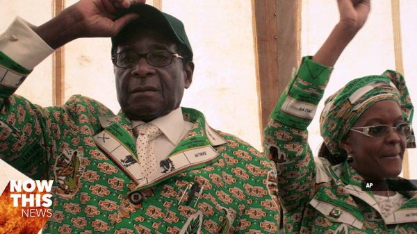 Dictator Fashions Mugabe Green