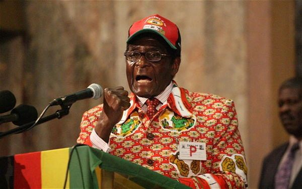 Dictator Fashions Mugabe Red