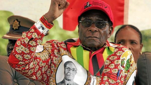 Dictator Fashions Mugabe Self