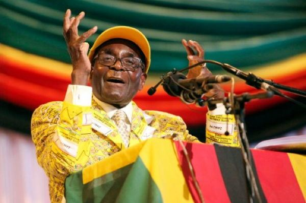 Dictator Fashions Mugabe Yellow