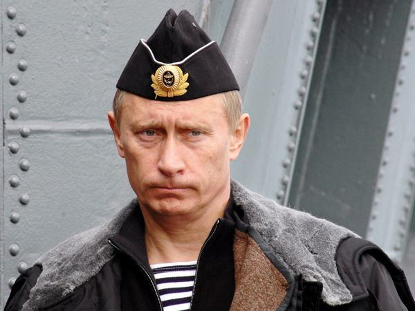 Dictator Fashions Putin Nautical