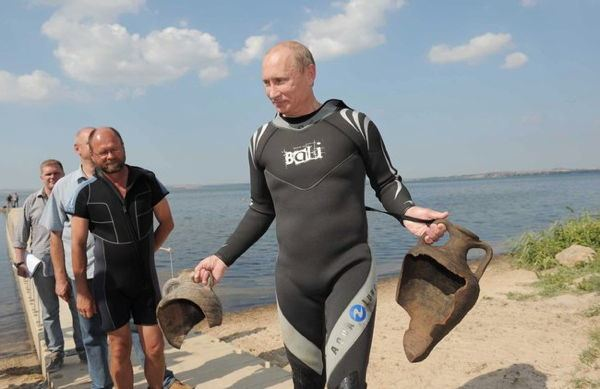 Dictator Fashions Putin Wet Suit