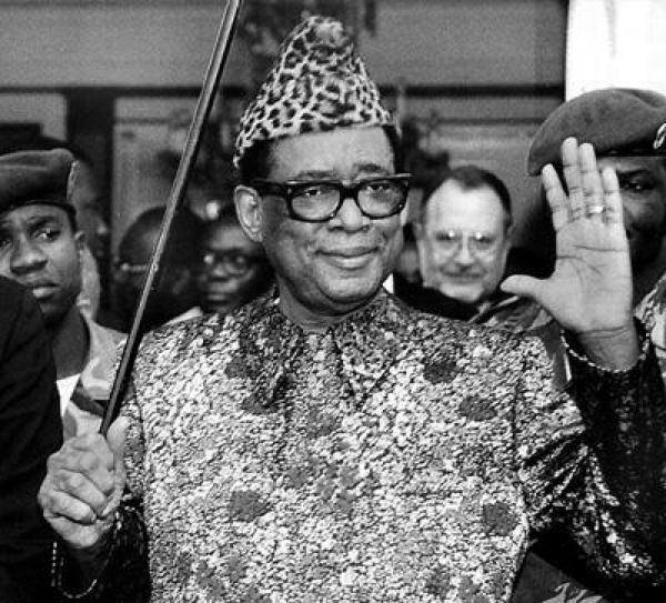 Dictator Fashions Mobutu Cane