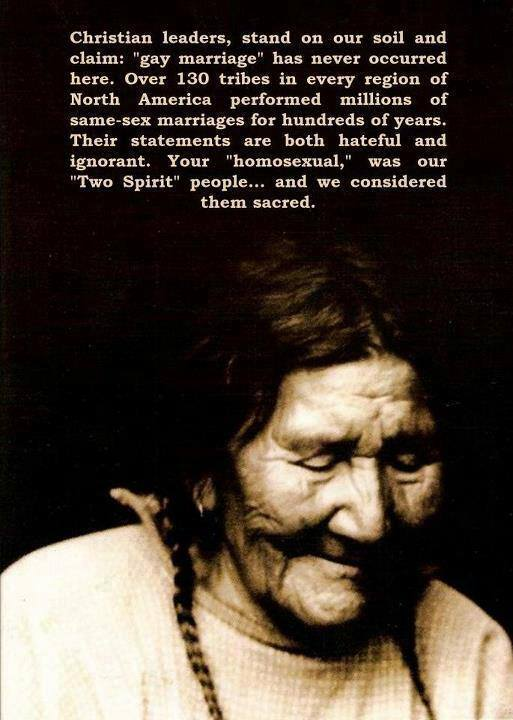 Two Spirit People