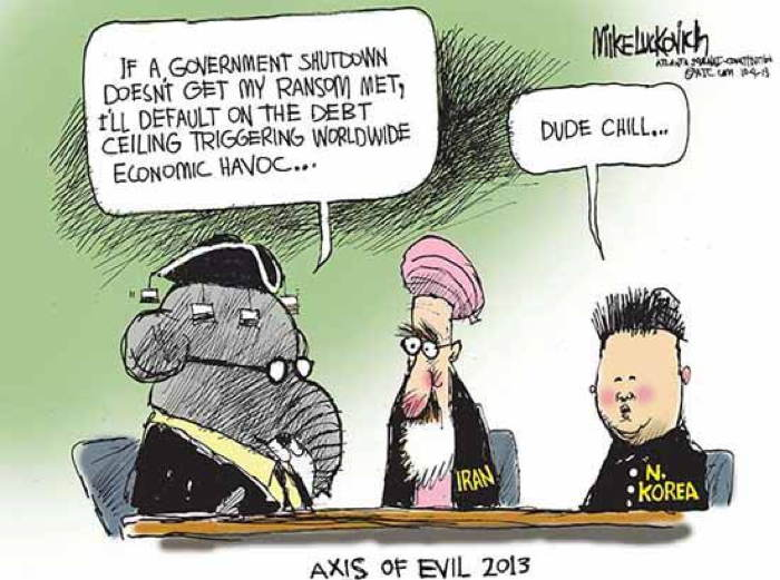 2013 Political Cartoons Debt Ceiling
