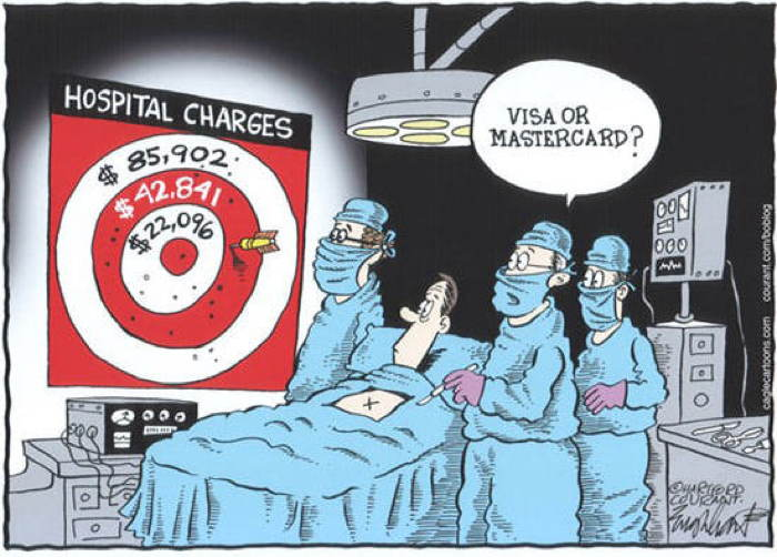 2013 Political Cartoons Health Costs