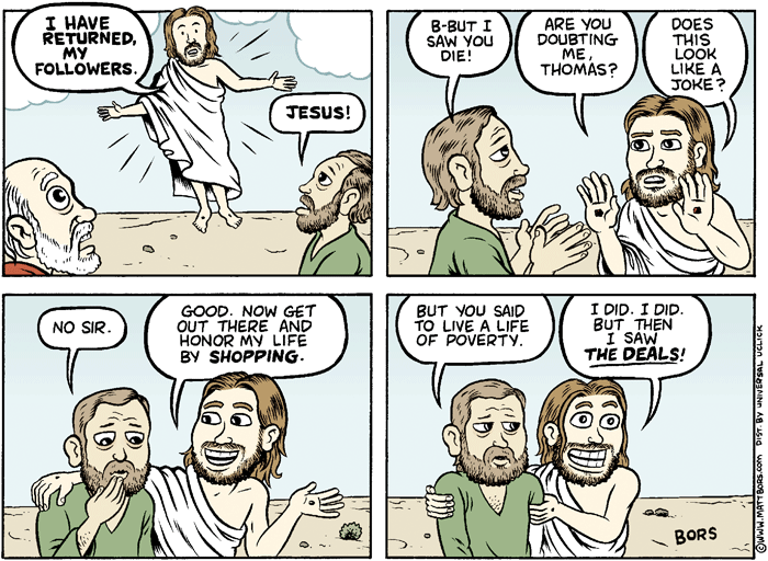 2013 Political Cartoons Jesus