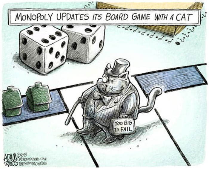 2013 Political Cartoons Monopoly