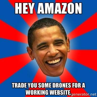 Amazon Drone Obama