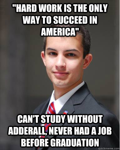 College Conservative Adderall