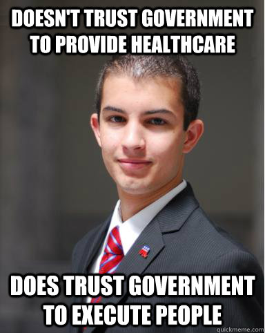 College Conservative Execution Healthcare