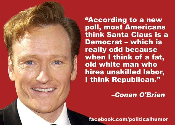 Conan O Brien Santa Claus