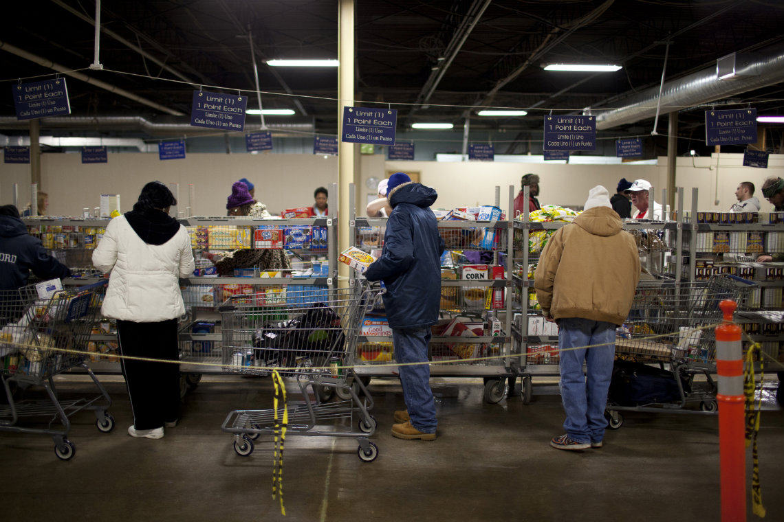 Food Pantry Shoppers