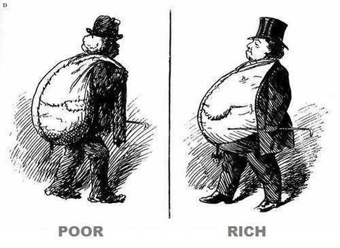 Rich Poor Difference