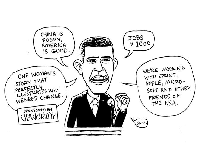 SOTU Comics Obama