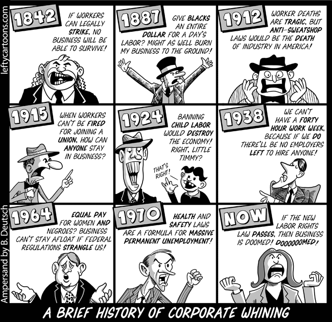 Corporate Whining