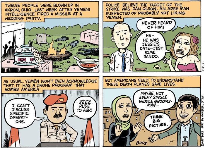 Drone Bombing American
