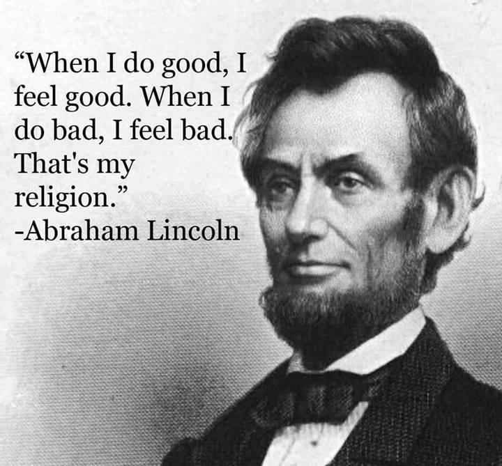 Lincoln Religion