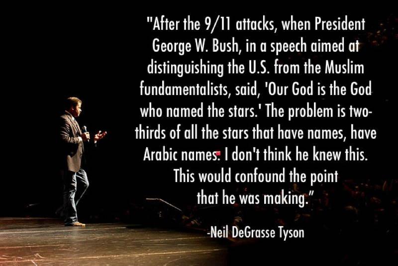 Neil DeGrasse Tyson Bush