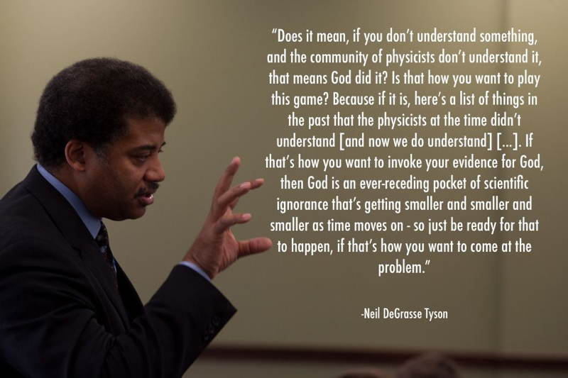 Neil DeGrasse Tyson God