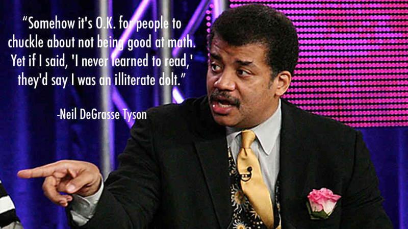 Neil DeGrasse Tyson Math