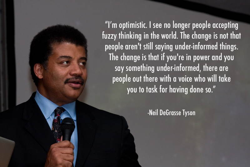 Neil DeGrasse Tyson Optimism
