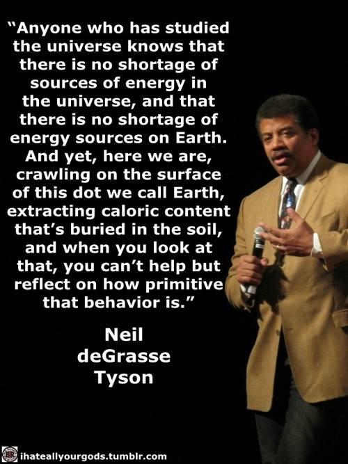 Neil DeGrasse Tyson Primitive Behavior