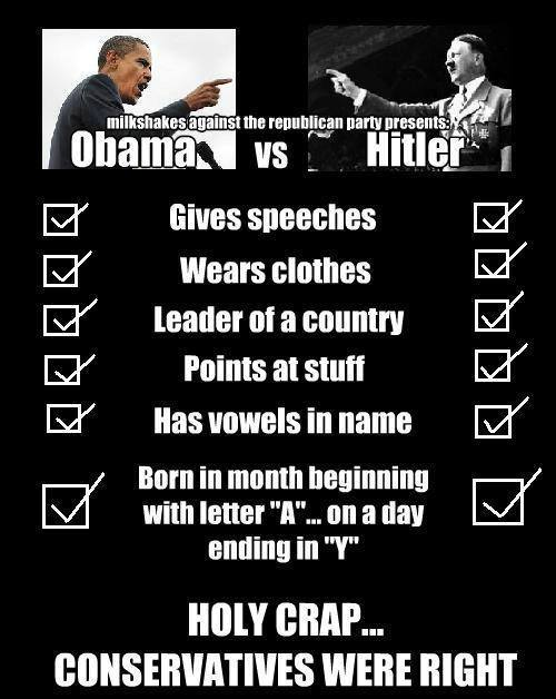 Obama Versus Hitler