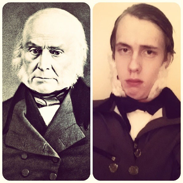 President Impersonations Quincy Adams
