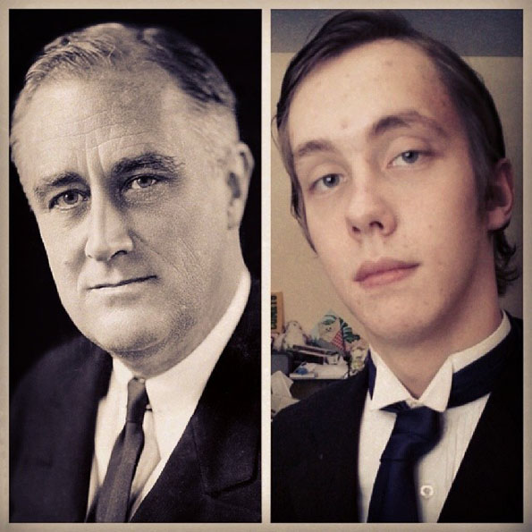 President Impersonations Roosevelt