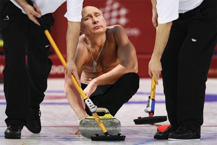 Putin Curling