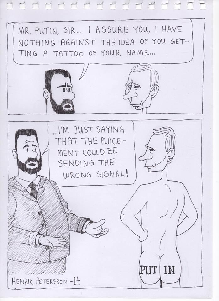 Putin Tattoo