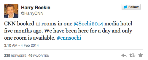 Sochi Tweets CNN