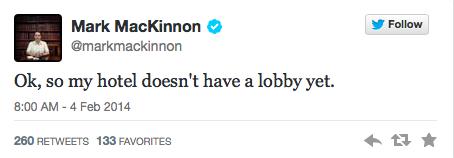 Sochi Tweets Lobby