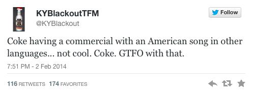 Speak American GTFO