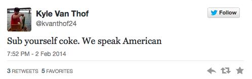 Speak American Sub Yourself