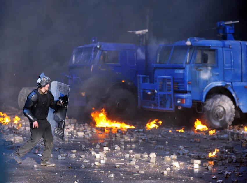 Ukraine Uprising Clash