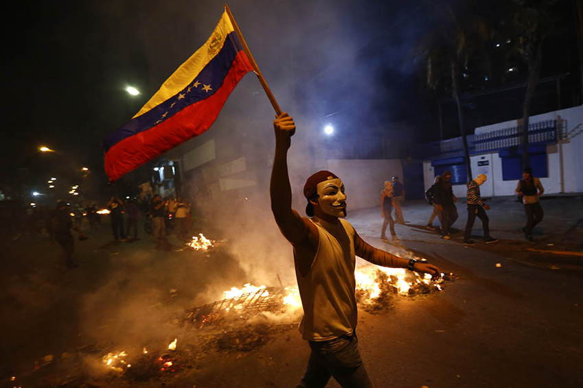 Venezuela Protests Anonymous